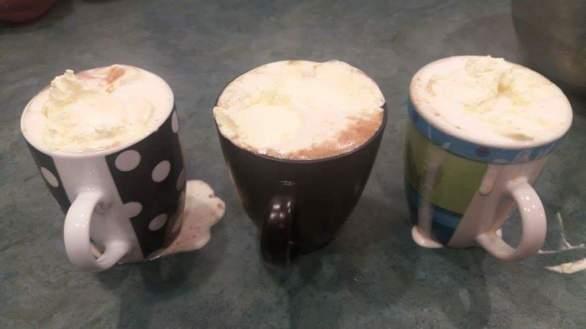 Hot chocolate for movie night!
